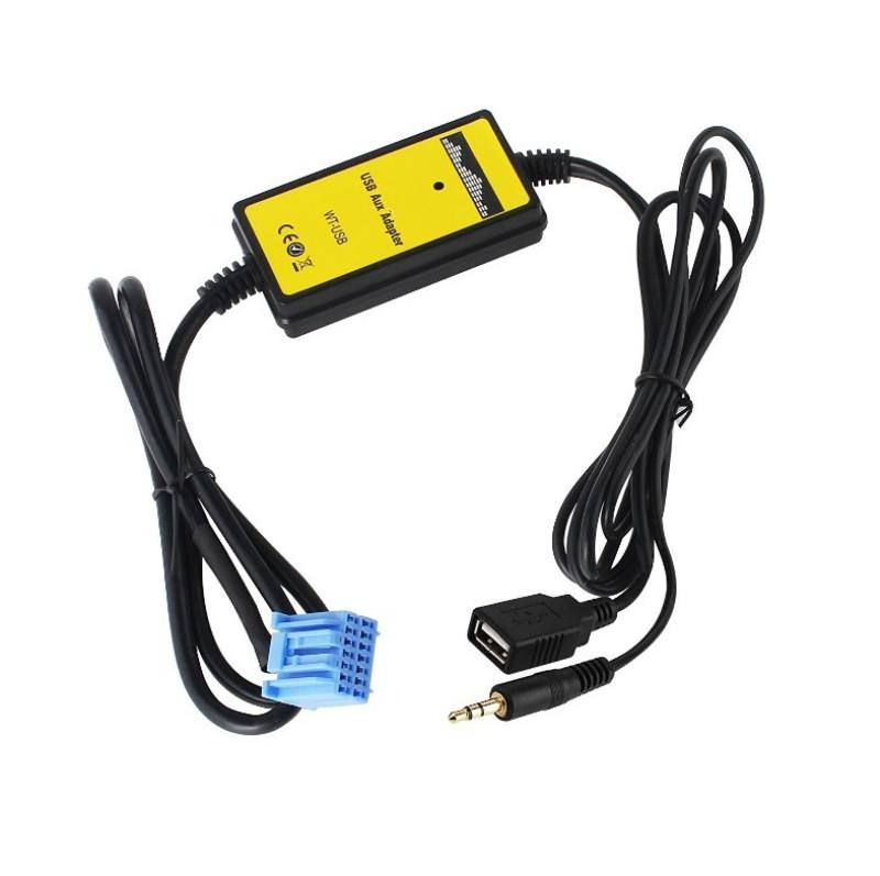 Audio Car Digital Music Changer USB SD MP3 AUX audio cable Car MP3 digital disc case for Honda 2.3 support SD card U disk