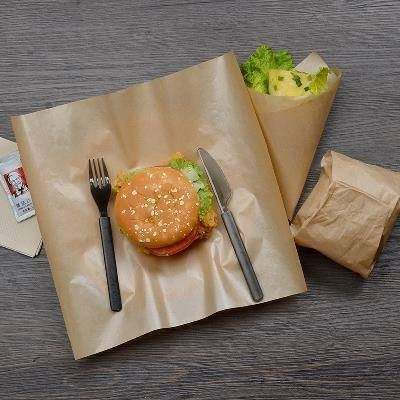 water and oil proofing paper Greaseproof paper For Sandwich Hamburger Food Candy Gift Soap Wrap Packaging