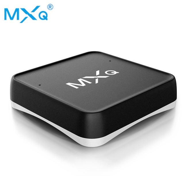 MXQ S10W android tv box с голосовым поиском и умным динамиком