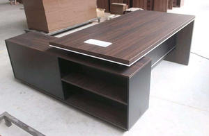 Stock items wholesale wooden executive manager office table design