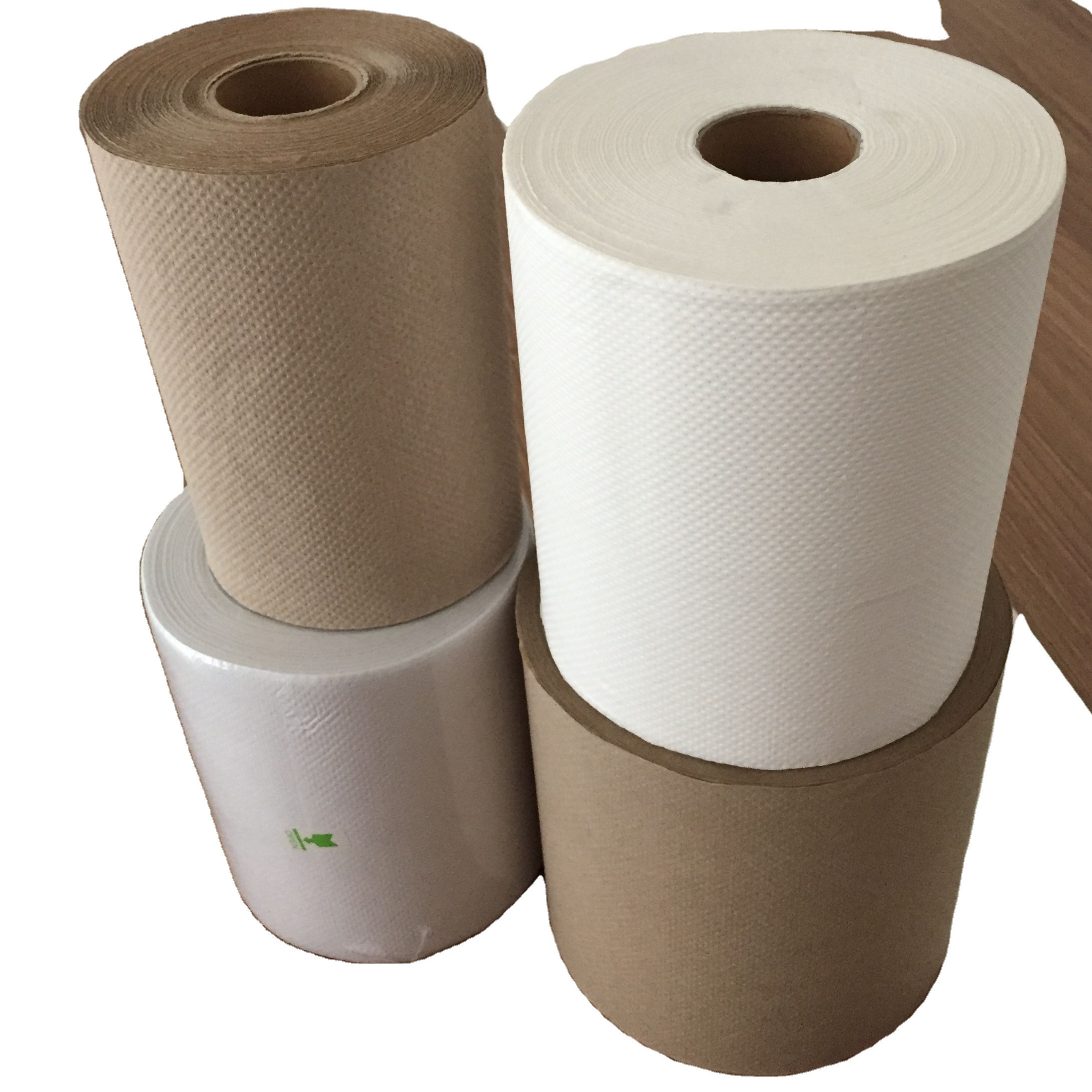 Hand paper towel rolls tissue papers in rolls
