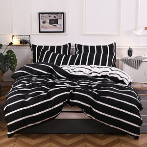 100% polyester bedding set including pillowcase , mattress cover and bedsheet