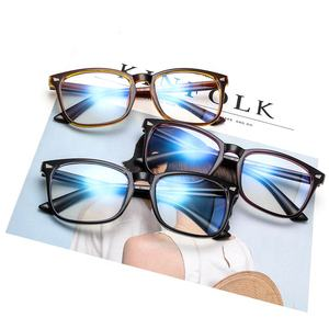 Wholesale Design Anti Radiation Computer Gaming Eyeglasses Frame Optical Eyewear, Cheap Vintage Blue Light Blocking Glasses
