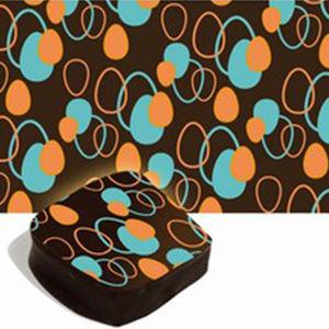 2 Color Custom Printing Chocolate Transfer Sheets
