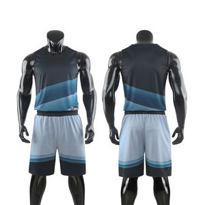 2020 Custom Sublimated Printing Sports Wear Basketball Uniform Design T Shirts For Men