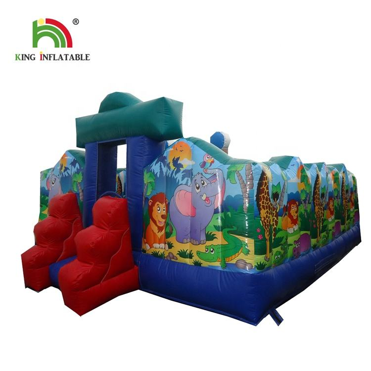 2019 Factory Price Inflatable Paradise Castle Bouncer Inflatable combo jumping Castle For Sale