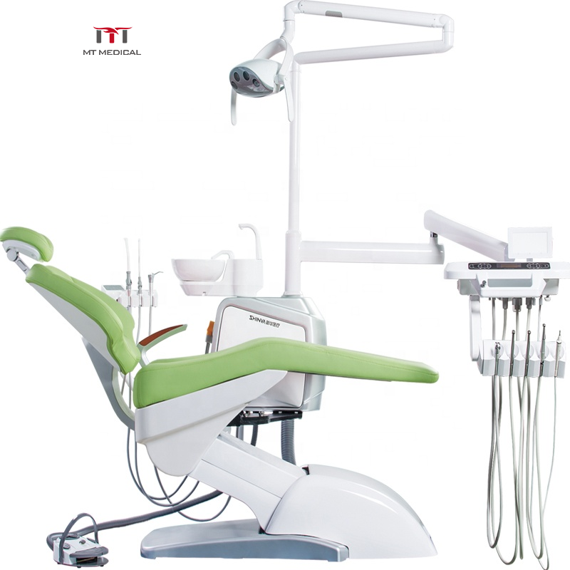 High quality dental equipment full touch screen electric portable dental chair for hot sales