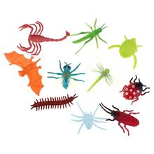 Excellent quality factory price assorted mini plastic insect toy mix kinds