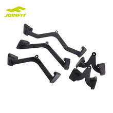 Gym Training mag grips Exercise Metal Accessories FItness V Bar Grip Handles, Rowing Handle soft PVC Grips