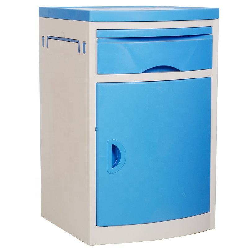 Manufacturers Factory wholesale Hot sale Medical equipment ABS plastic hospital bedside cabinet table customizable