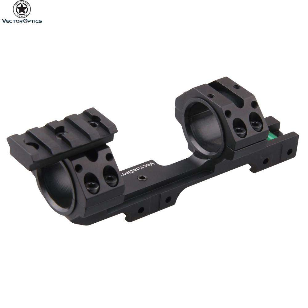 "Vector Optics Precision 11mm 3/8"" Dovetail Spirit Bubble Level 30MM Cantilever Rifle Scope Mount with Spare TOP Picatinny Rail"