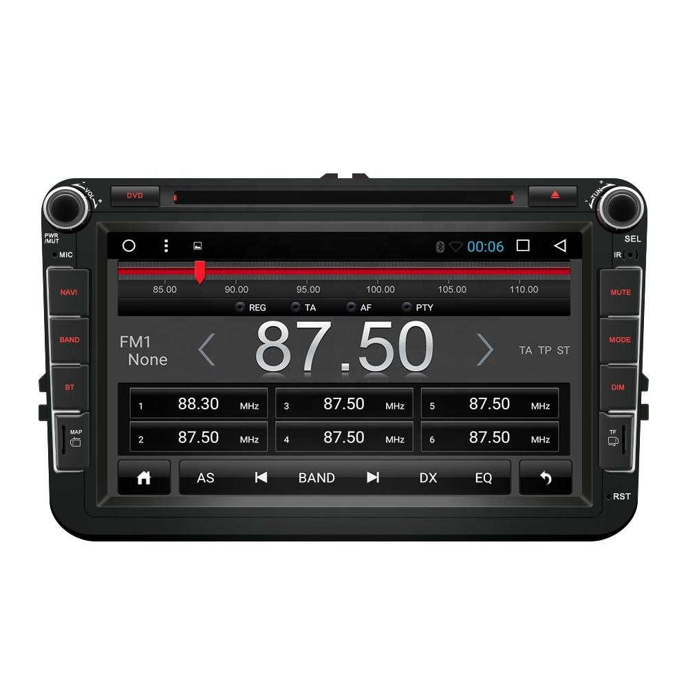 "Android 2 Din 8"" Car DVD Player GPS Navigation For VW"
