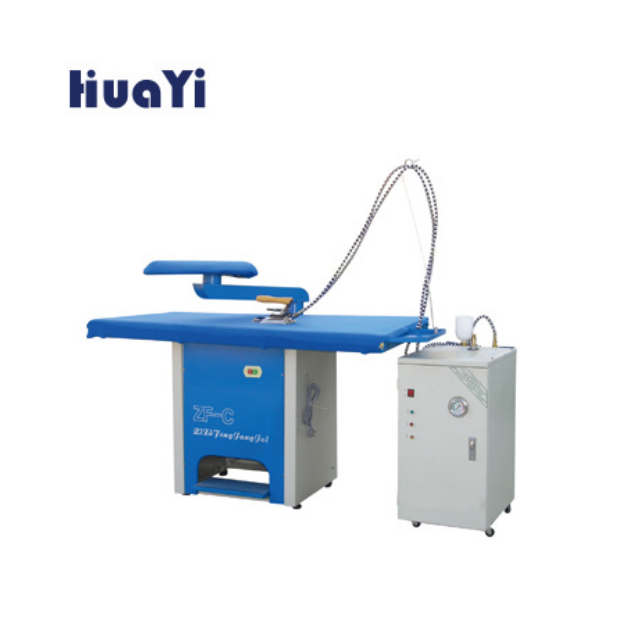 Commercial Laundry Equipments with Steam Laundry Press Ironing Table
