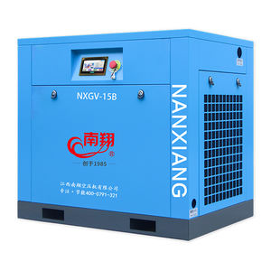 Energy Saving gas displacement 134/127/113/95cfm low noise two stage rotary screw air compressor for sale
