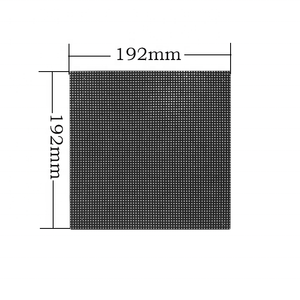 Full Color Video Display 64x64 dots rgb indoor p3 smd led matrix display panel/led module