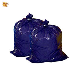 Big Size 30 50 70 Gallons Can Liner Plastic Rubbish Packing Flat Bag
