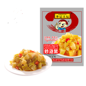 55g Liji sauted preserved vegetables with soybean oil Chinese food snack