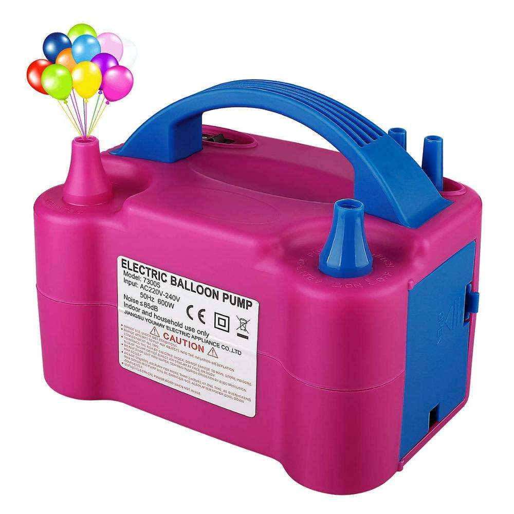 High Performance Balloon Machine Electric Balloon Pump High Power Portable 220V Inflator Portable Electric Balloon Air Pump