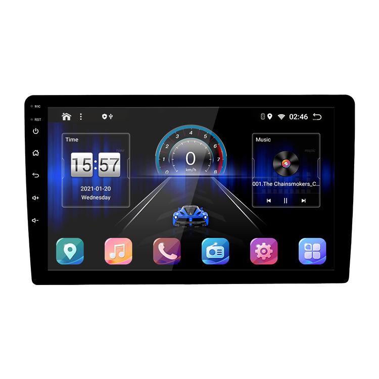 10 pulgadas 2din Android 10 Multimedia Ips pantalla Rds AHD dsp Carplay 2 + 32G Radio Estéreo reproductor