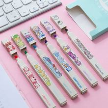 japanese stationery dry erase alcohol permanent coloring markers set highlighter pen