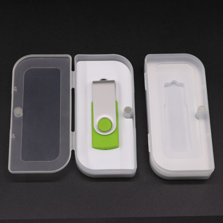Hard Storage Plastic Packing USB Card Case 8GB 16GB 32GB 64GB 128GB SD USB Case USB Flash Drive Packaging Box