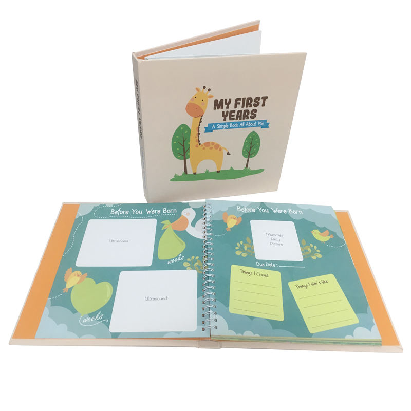 Hot Baby Memory Book, Hardcover Milestone books,Baby Picture Album