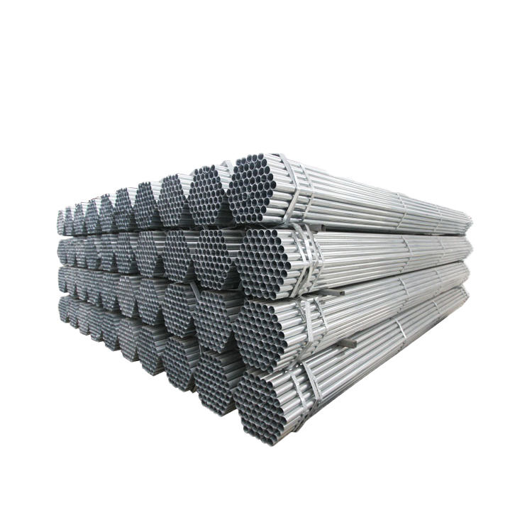 BS1387 2 inch hot dip galvanized steel round pipe structural gi scaffolding steel pipe with couplers in Philippines
