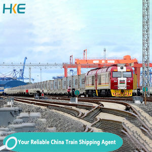 Door to Door Railway Cargo Delivery China to UK Spain Rail Freight Shipping Train