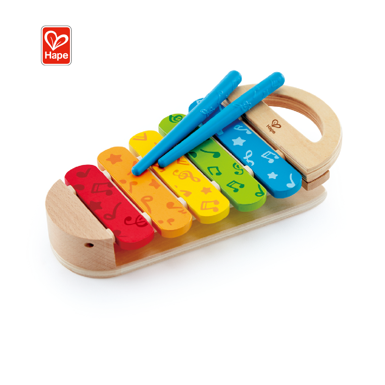 Hape Kids Play Rainbow Xylophone Music Wooden Toddler Toy