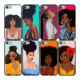 Painting sexy bra girls Matte Soft TPU cell Phone Case Cover For iPhone SE 2