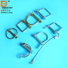 Safety Lynch Pins Locking Pin Clip For Trailers Farm Tractor Car Truck ATV Linchpin