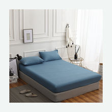 Fashion style 80gsm 100% polyester 4pcs microfiber sheets and bed sheet set for home use