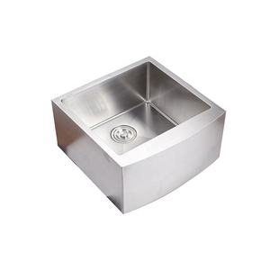 Manufacturer Supplier Stainless Steel Apron Front Rectangular Kitchen Sink
