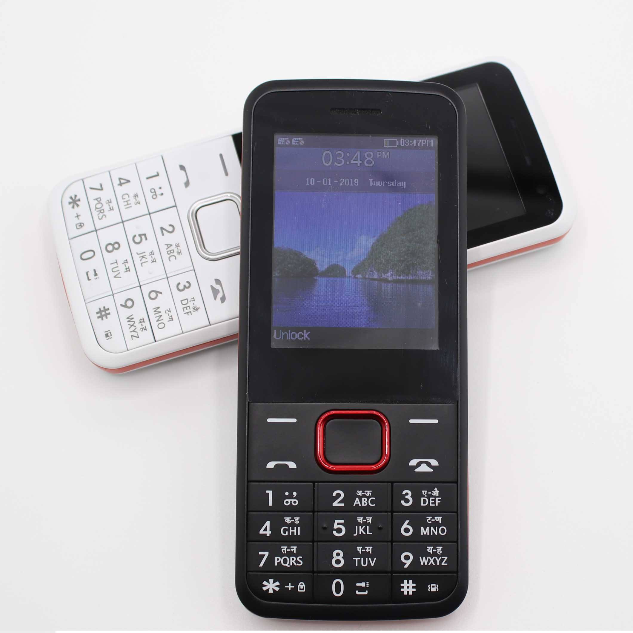 Wholesale Free Sample Mobile Phone 2.4 Inch Original Cheap Feature Cell Phones Unlocked Mini Keypad Phone Mobile