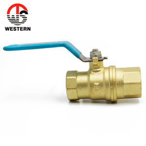 Kitz type Sand polished and full port brass ball valve