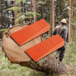 Tree Logging Bucking Falling Felling Wedge Chainsaw Accessory Logging Tools