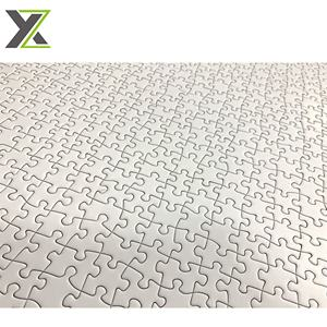 Printable 1000 pieces 50*70 cm sublimation blank white jigsaw puzzle