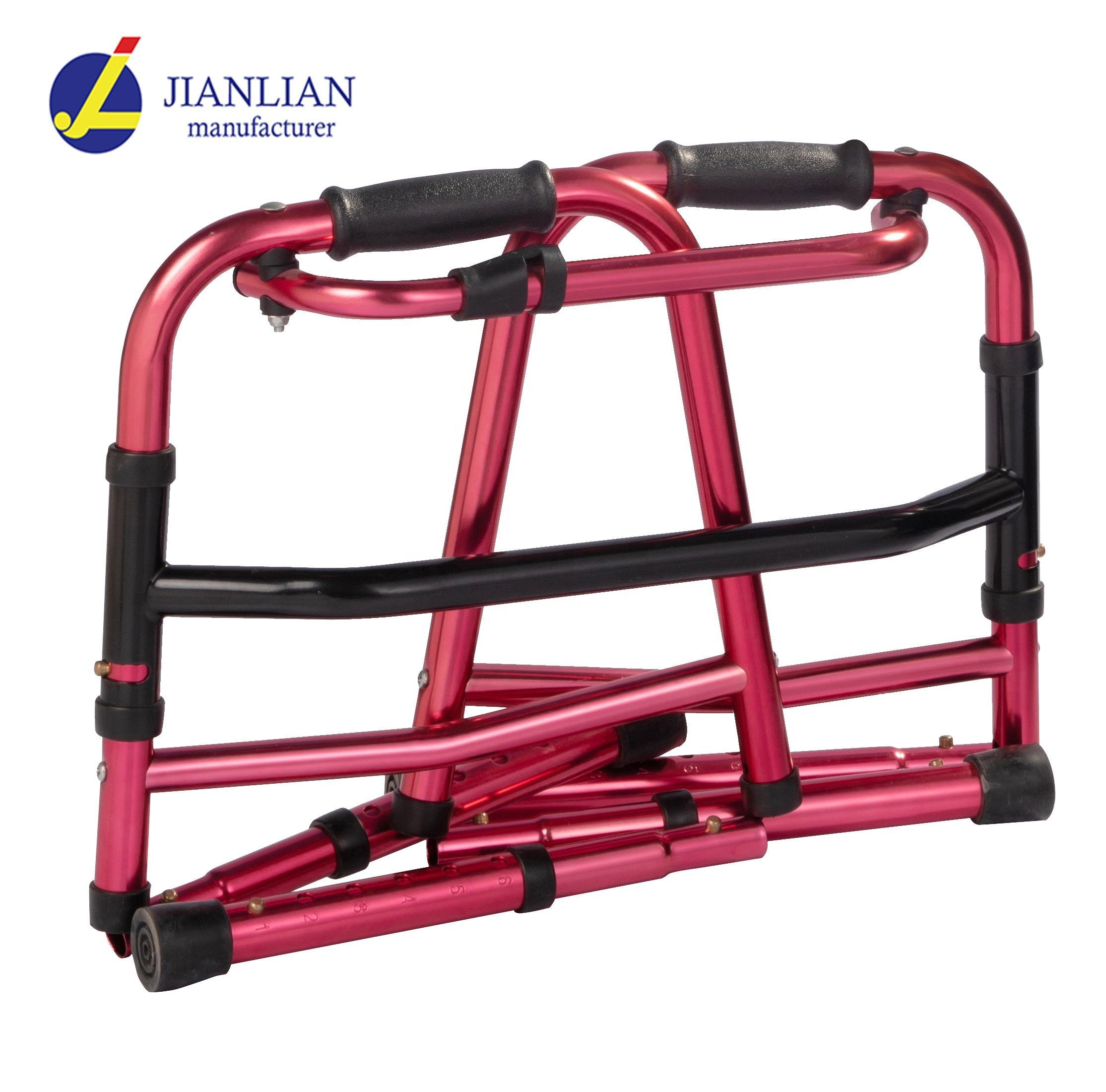 hot sale aluminium foldable stair climbing walker