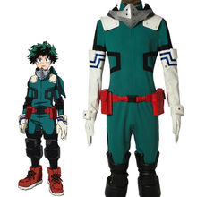 Halloween cosplay Anime My Hero Academia DeKu cosplay costume for Adult Men Cos