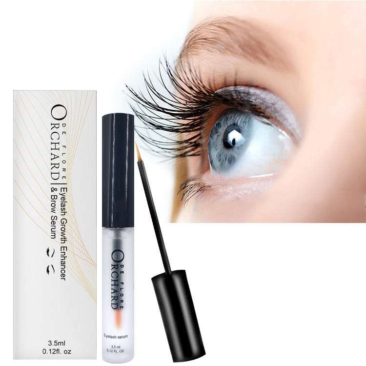 Certified 100% Natural Eyelash Serum Private Label Eyelash Growth Serum