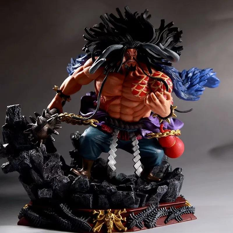 Collection pvc Model Beeldje japanse Vier Keizers GK Battle kaido een stuk anime action figure