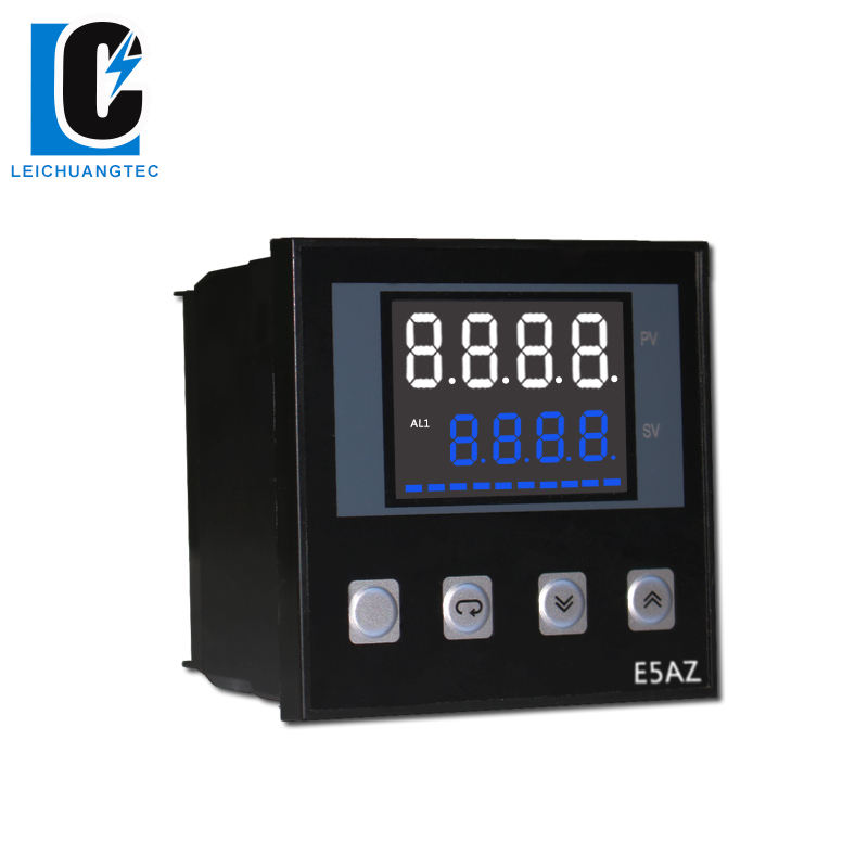 E5AZ LCD display type intelligent PID temperature controller industrial usage, 96*96mm SSR or relay output