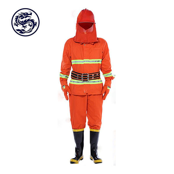 BSCI Sedex Factory No Minimum Custom OEM Fireman Uniforms Nomex Firefighter Clothing Flame Resistance Property Fireman Suit