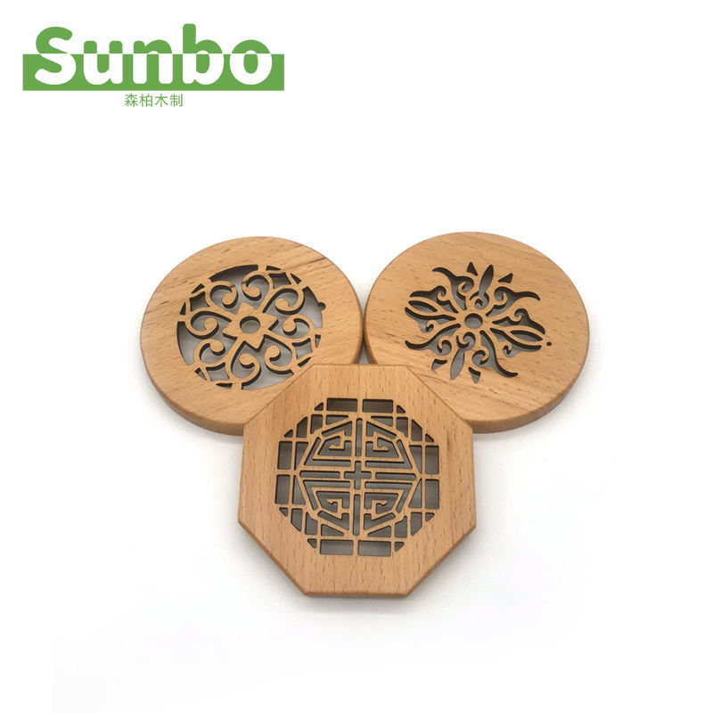 Hot Selling High Quality Carving Wooden Cover Or Wooden Mat