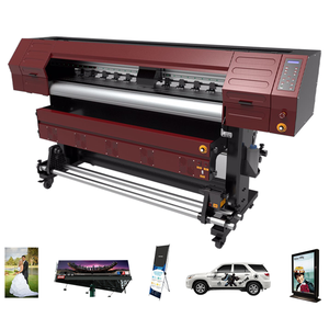 High resolution wide format printing and cut vinyl machine eco solvent printer