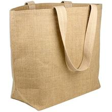 Wholesale Manufacturers Reusable Bags for Shopping Eco Tote China Jute Bag