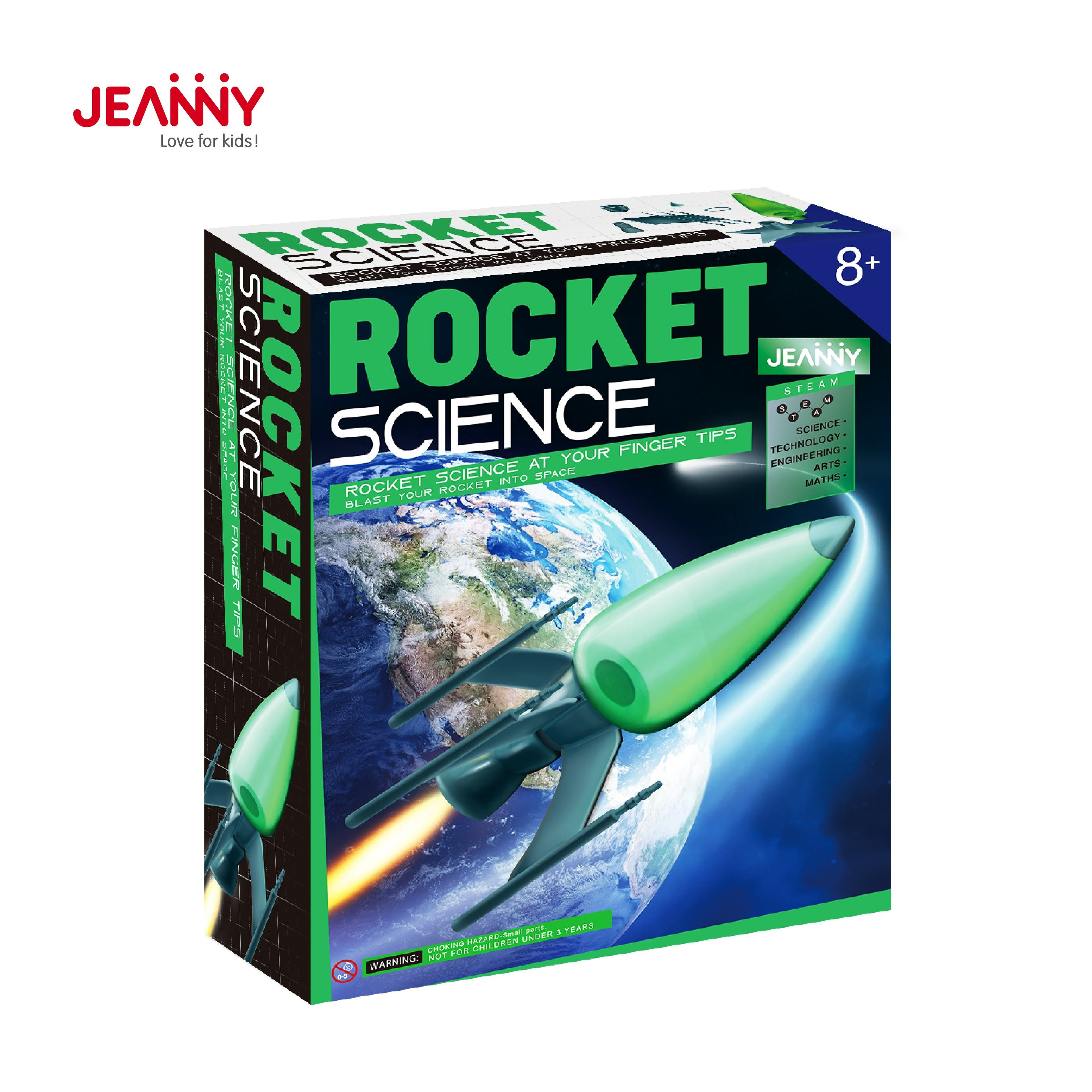Best Selling Stem Preschool Educational Science Creative Toys For Kids 2020 Rocket Science Stem Toys Educational Kits For Boys