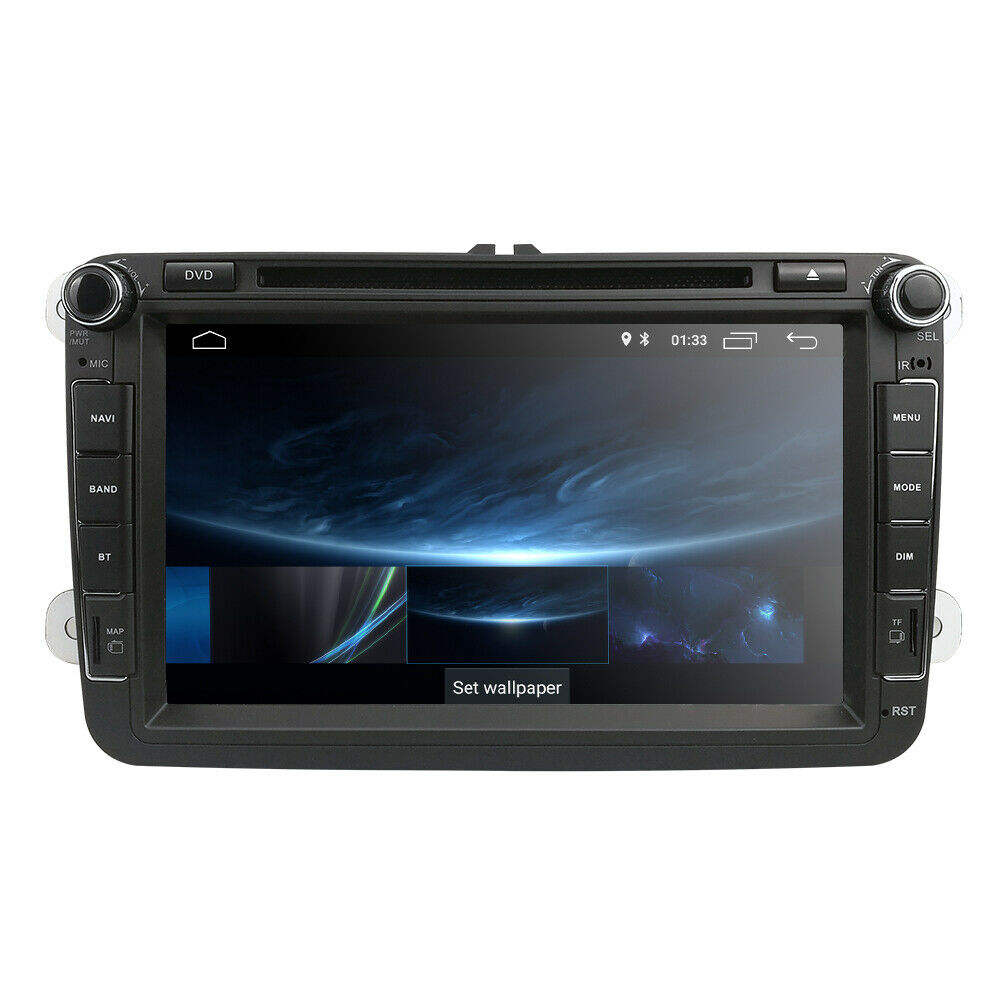 "IPoster 8 ""Android 10.0 Din 4 2 Núcleo WiFi 4G GPS Navi DVD Player Do Carro Para VW/passat/POLO/GOLF/Skoda"