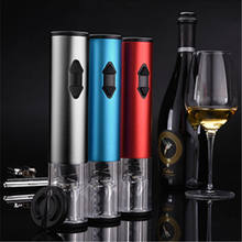 Kitchen Supplies New Type Dry Battery Electric Wine Opener Automatic Bottle Opener Professional Red Wine Cordless Corkscrew