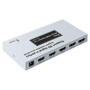 DTECH OEM/ODM 1080p 1 in 4 out 2.0 1x4 4k HDMI splitter